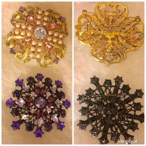 Fashion Jewelry Multicolored brooches